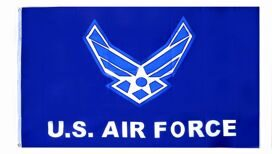 "ФЛАГ ""U . S . AIR FORCE"" 3*5 ( ПОЛИЭСТЭР ) ROTHCO"